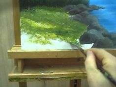 "Acrylic Painting - Grass easy painting Try It Now!VERY EASY Acrylic Lesson  This is Part 6/7 of a beautiful seascape painting  If you want to watch all series in 1 short videa watch:  ""Acrylic Lesson Online - How To Paint A Picture With Acrylic""  To watch all 7 videos of this painting   Here are the titles:  Paint a sky with acrylic  1/7  Acryli..."
