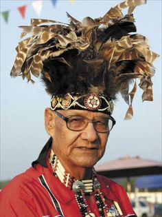 Leaford Bearskin (September 11, 1921 – November 9, 2012) was a Native American tribal leader and US Air Force officer. He was Chief of the Wyandotte Nation from 1983 to 2011.In 1960 Bearskin retired from the service with the rank of Lieutenant Colonel. Amongst his many honors and citations were the Distinguished Flying Cross and the Medal for Humane Action.
