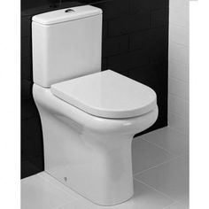 Fontego Close Coupled Pan and Cistern - : Platinum Taps & Bathrooms Close Coupled Toilets, Back To Wall Toilets, Toilet Cistern, Modern Bathroom, Bathroom Ideas, Amazing Bathrooms, Basin, Really Cool Stuff, Compact