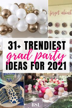 This post was so helpful when I started planning my graduation party! I can't wait for my guests to see these decorations. Outdoor Graduation Parties, High School Graduation Gifts, Graduation Party Decor, Grad Parties, Graduation Ideas, High School Girls, School Boy, Graduation Cap Designs, School Signs