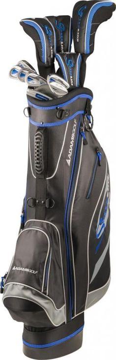 2014 Adams Golf Mens Speedline Steel Package Set Uniflex Inch Right-Hand 359 dollars Sport Wear, Golf Bags, Style Me, Packaging, Mens Fashion, Play, Steel, Best Deals, How To Wear