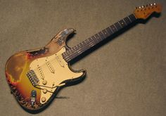 Best way to give a guitar a worn vintage look?tdpri thread