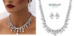 jewelry set zirconia luxury borealy Jewelry Sets, Luxury, Diamond, Diamonds