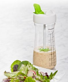 Dressing Mixer Bottle - with an easy pour spout, too!