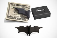 Batman money clip. Even the dark knight uses cash.