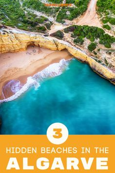 The Algarve beaches – in Portugal's most southern region – are popular. Here are a few undiscovered beaches in the Algarve. | TravelDudes #Travel #Algarve #Portugal | travel portugal | portugal beaches | algarve portugal | portugal algarve | algarve beaches | algarve beach | algarve things to do Bucket List Life, Europe Bucket List, Europe Train Travel, Traveling Europe, Portugal Travel, Spain Travel, Beach Travel, Beach Trip, Top All Inclusive Resorts