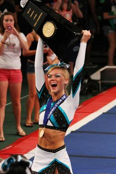 Maddie Gardner.. epic win! ♕ See all worlds results on: http://www.cheercoach.net/profiles/blogs/usasf-iasf-cheerleading-worlds-2012-results-orlando-florida-sunda