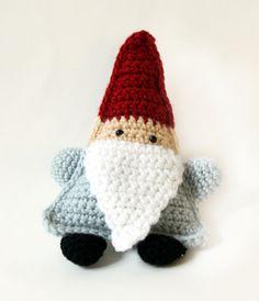 lion brand yarn gnome amigurumi free crochet pattern