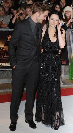 i like kristen's dress. actually her whole look here.