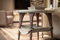 Melting Light side table | TURRI | Made in Italy furniture Light Side, Ceiling Design, Bar Stools, Shelves, Metal, Table, Design Bedroom, Furniture, Home Decor