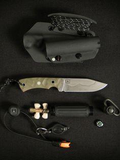 Mcnee's Custom Knives PSK TAD Edition