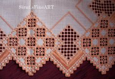 Hardanger others altar cloth Altarcloth by SirutsWelt on Etsy