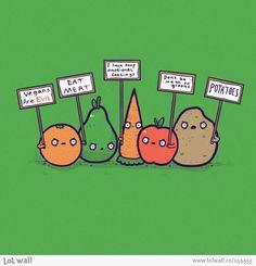 Fruit & Veggie's Protest