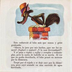 Cuentos infantiles: Los tres cerditos. Cuento ilustrado. Big Bad Wolf, Cause And Effect, Little Pigs, Baseball Cards, Illustrations, Books, Reading Books, Infant Learning Activities, Children