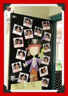 Ahoy there, matey! We are delighted to give you a peek into our colleague, Jessica Wheeler& Pirate Themed classroom today. School Decorations, School Themes, Classroom Themes, Preschool Pirate Theme, Pirate Activities, Pirate Bulletin Boards, Pirate Door, Decoration Pirate, Teach Like A Pirate