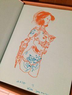 011 - Kim Jung Gi sketch dédicace