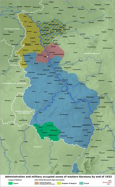 Alliedoccupied Germany The Allied Zones Of Occupation In Post - Germany map zones