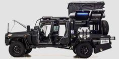 patriot campers LC79 supertourer off road utility vehicle designboom