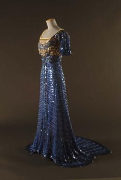 1909 evening gown by Callot Soeurs, via The Gregg Museum of Art & Design.