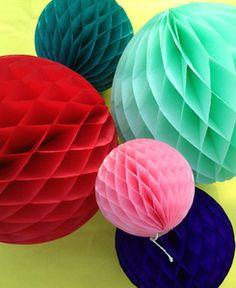 Honeycomb Ball Decoration Tissue Paper Honeycomb Ball 8Inch White  Baby Shower  Pinterest