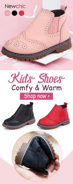 Girls Elegant Pure Color Zipper Keep Warm Ankle Short Boots For Toddler And  Kids is cheap c0275ec2d8e2