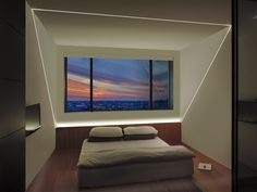 LED Plaster-In lighting solution | Modern bedroom lighting idea | TruLine .5A - by Pure Lighting