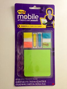 aeed02f15119 Similar to the Filofax Post It Notes Insert from Office Depot