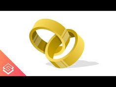 Inkscape Tutorial: Vector Interlocking Rings - YouTube