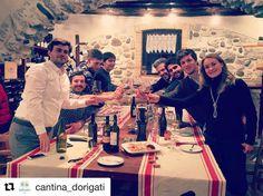 #Repost @cantina_dorigati  Bellissima cena tra amici produttori del #TEROLDEGOROTALIANO. Una sola parola d'ordine per il futuro: #TEROLDEGO! Grazie all'amico Giulio per l'ospitalitá. @cantinadevigili @cantinadonati @cantinaendrizzi @cantinamartinelli @zenivignaioli @rudyzeni @elisabettadonati