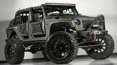 Extreme tuning Jeep Wrangler Unlimited ~