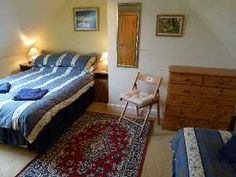 Dronach bedroom 2 with double and single bed