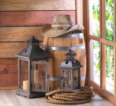 Lamps and Lighting: Monticello Wood Lantern L Modern American ...