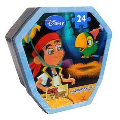 Disney Jake and the Never Land Pirates Lenticular Puzzle by Cardinal