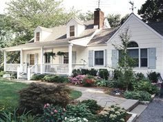1000 images about cape cod porches and more on for Cape cod home landscape design