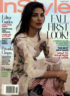 Fall first look! Gefunden in: IN STYLE / USA, Nr. 8/2016
