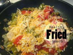 "Recipe Rebels: HEALTHY ""FRIED"" LUNCH"
