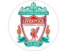 7.5 inch Liverpool The Reds FC Club Football Team Emblem Badge Logo Premier League Victoria Sponge Large Round Circle Cake Topper Decoration Edible Rice Wafer Paper Cake Topper http://www.amazon.co.uk/dp/B00IGAF2UO/ref=cm_sw_r_pi_dp_8RC6ub16612HZ