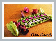 Tita Carré  Agulha e Tricot : Barrado Jardim de rosas  e os Amigos são flores