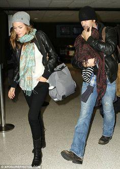 Colin Farrell's Wife | COLIN FARRELL AND GIRLFRIEND ALICJA BACHLEDA