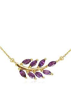 Eddera Olive Branch Necklace