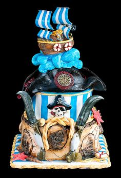 Pirates cake | Flickr - Photo Sharing! #coupon code nicesup123 gets 25% off at  Provestra.com Skinception.com
