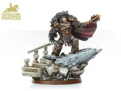 GOLD Horus the Warmaster Primarch of the Sons of Horus