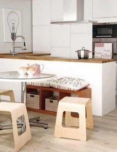 1000 images about mesa o barra on pinterest ideas para - Ideas para decorar cocinas pequenas ...