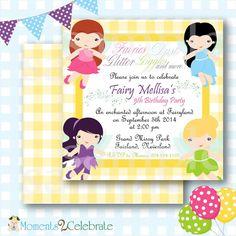 Tiana birthday princess tiana birthday invitations tiana birthday tinkerbell birthday invites filmwisefo