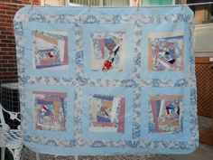 43x52 UNFINISHED Quilt Reversible Modern Patchwork by 2lewa