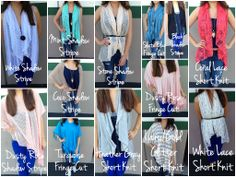 Lots of new styles and colors! Check them out on the blog today!