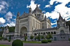 by FotoTinaD300 on Flickr.  Basilica of Saint Therese, Lisieux - Lower Normandy, France.