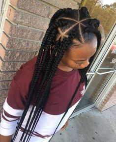 Box Braids With Triangle Parts Gallery natural hairstyles braids triangle parts natural hair Box Braids With Triangle Parts. Here is Box Braids With Triangle Parts Gallery for you. Box Braids With Triangle Parts 65 cool triangle box braids tha. My Hairstyle, Box Braids Hairstyles, African Hairstyles, Protective Hairstyles, African American Braided Hairstyles, Braided Hairstyles For Black Women, Little Girl Hairstyles, Black Hairstyles, Hairstyles 2018