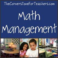 Tips for Organizing and Utilizing #Math Manipulatives