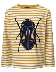 Don't Bug Me T-Shirt | Yellow | Monsoon